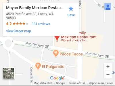 Mayan Family Mexican Restaurant on Google Maps